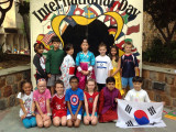Rahi's third grade class on International Day