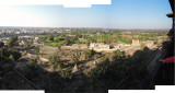 View of Orchha from Jahangir Mahal (29 Jan 2015)