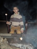 Roasting marshmellows in Dehradun
