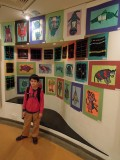 Third grade art exhibition