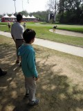 First time attending a professional golf tournament (the 2015 India Hero Open)