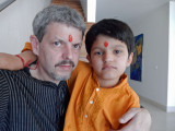 Rahil and Dad