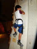Rock climbing for his birthday party