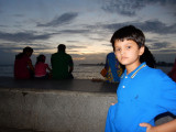 Marine drive:  gathering monsoon