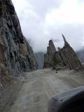 Approaching Zojilla pass