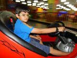 Bumper cars at the Dehradun mall:  five minutes for Rs. 80 ($1.33)