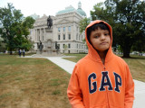 First time at the Indiana State Capitol