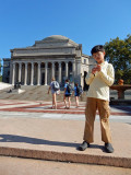 First time at Columbia University