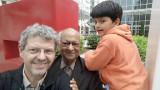 With Dad and Nanu in Amman, Jordan