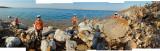 At the Dead Sea shore
