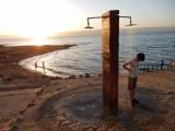 Dead Sea shower