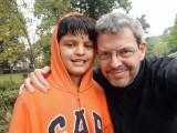 Rahil and Dad in Dehradun