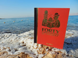 Forty Cartoon Books of Interest visits the Dead Sea