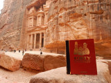 Forty Cartoon Books of Interest visits Petra