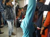 First Delhi Metro ride