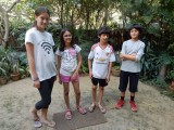 With Nizamuddin pals
