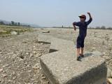At the Asan Barrage