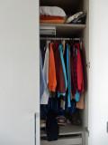Sulking in closet