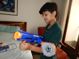 New Nerf gun!