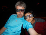 AMNH 3D movie with Dad