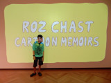 At the Roz Chast exhibit