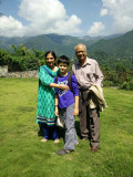 In Dehradun with Nanu and Nani