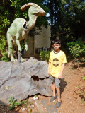 First trip to the Nehru Science Center.
