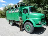 Another vehicle in Ladakh from Germany