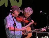 Phil Salazar and Mark Heyes fiddle and pick
