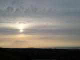 Calton Hill sunset