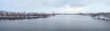 Panorama of Riddarfjärden from Västerbron