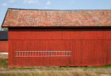 Barn with ladder