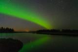 Aurora borealis . Leka