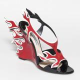 Prada Flame Shoes