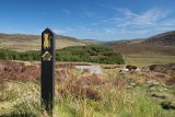 St Kevin´s Way near the Wicklow Gap