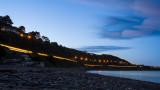 DART light trail at Killiney Beach