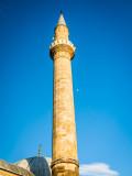 Minaret with moon, Hadum Mosque