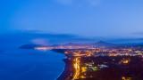 Killiney Bay at dusk