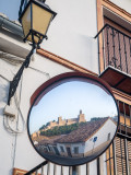 Antequera - Alcazaba reflected