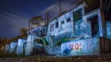 Abandoned tea rooms, Killiney Beach