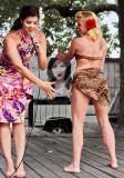 Mary Lynn May Hem shakes her bootie