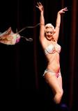 Missy Lisa flips her bodice Houston Burlesque Fest HOB