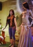 KKBB teaches belly dance 101 Luxor Xmas