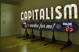 Capitalism Works For Me Yes No Steve Lambert Corpocracy Station Museum