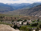 Mammoth Hot Springs City