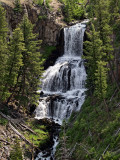 Udine Falls Yellowstone, Wy