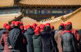 Tourists at Forbidden City, Beijing