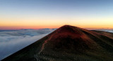 Mauna Kea summit twilight