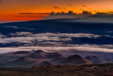 Mauna Kea summit at twilight