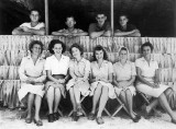 Kwaj 1945 Red Cross Unit